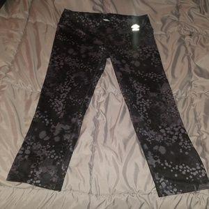 Umbro leggings black and grey
